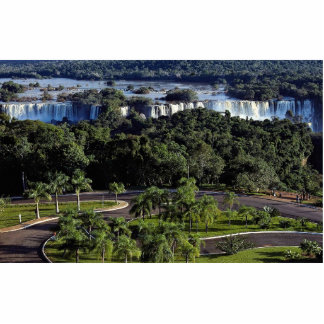 Iguassu Falls Brazil Cut Out