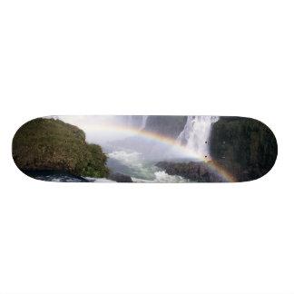Iguassu Falls, Parana State, Brazil. Aerial view Custom Skateboard