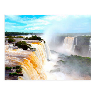 Iguazu Falls 4 Postcard