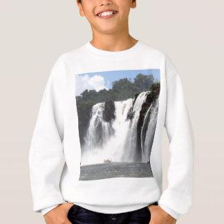 Iguazu Falls and boats, Argentina Sweatshirt