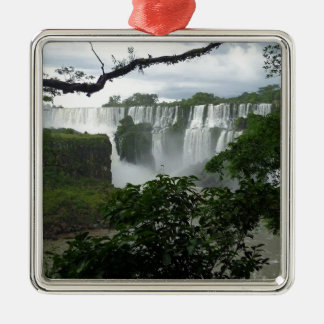 Iguazu Falls Argentina Metal Ornament