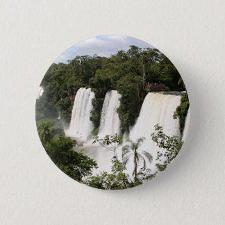 Iguazu Falls, Argentina, South America 2 Inch Round Button