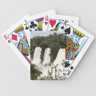 Iguazu Falls, Argentina, South America Bicycle Playing Cards