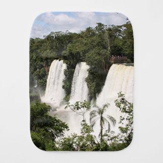 Iguazu Falls, Argentina, South America Burp Cloth
