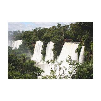 Iguazu Falls, Argentina, South America Canvas Print