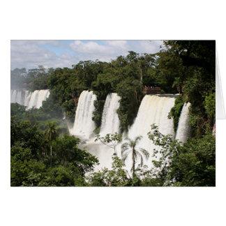 Iguazu Falls, Argentina, South America Card