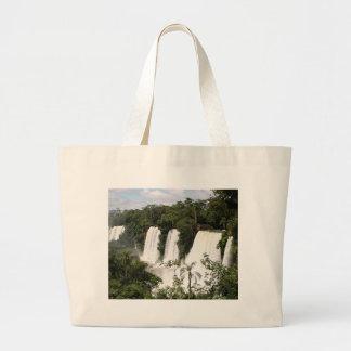 Iguazu Falls, Argentina, South America Large Tote Bag