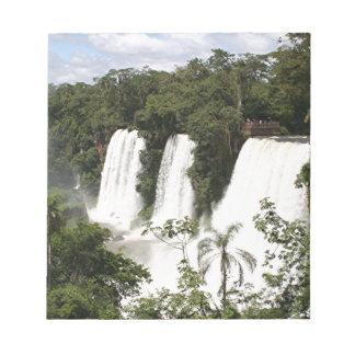 Iguazu Falls, Argentina, South America Notepad