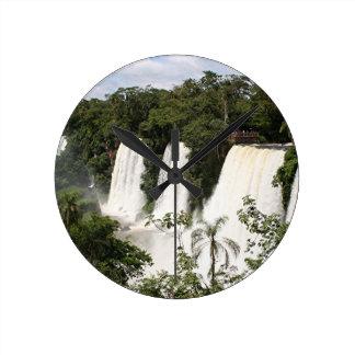 Iguazu Falls, Argentina, South America Round Clock
