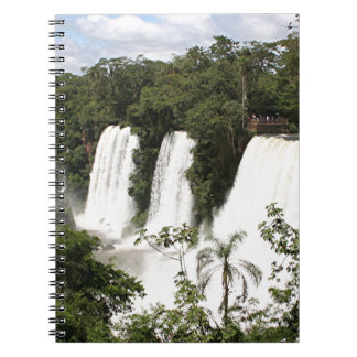 Iguazu Falls, Argentina, South America Spiral Notebook