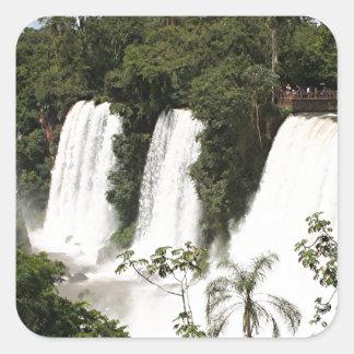 Iguazu Falls, Argentina, South America Square Sticker