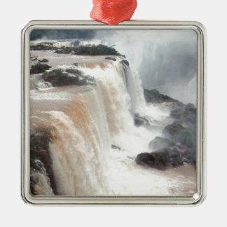 iguazu falls Brazill Metal Ornament