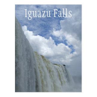 Iguazu Falls, Iguazu River, Argentina, Brazil Postcard
