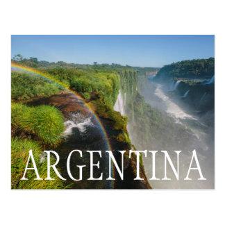 Iguazu Falls National Park, Argentina Postcard