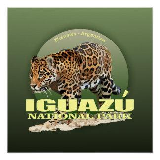 Iguazu NP (jaguar) WT Perfect Poster
