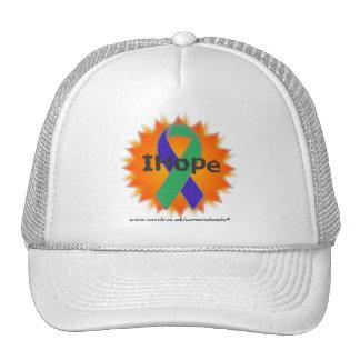 IH Fire Ribbon White Cap * IH * Trucker Hat
