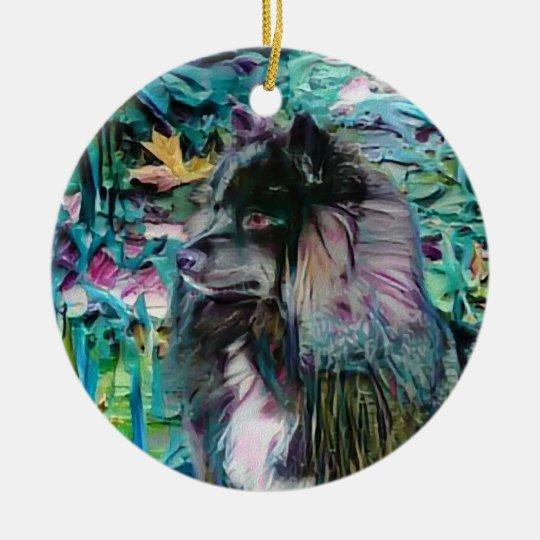 IHANA Finnish Lapphund Lappy ornament