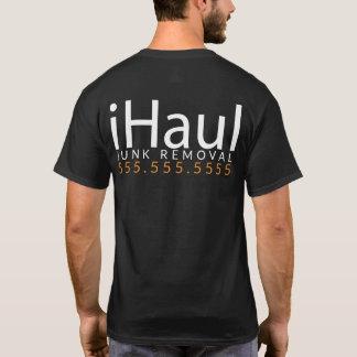 iHaul. Garbage Hauler. Junk Removal Shirt Promo