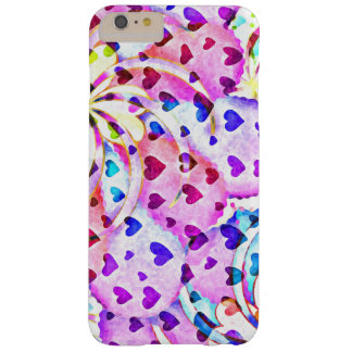 iHeart Abstract - Apple iPhone 7, Tough Phone Case