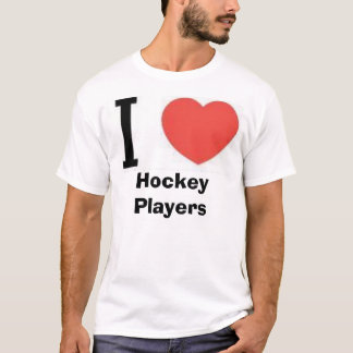 iheart, iheart, Hockey Players T-Shirt