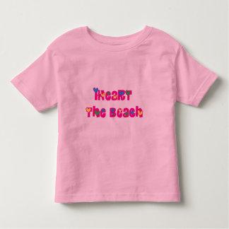iHeart the Beach Toddler T-shirt