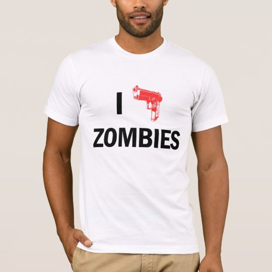 iI Heart Zombies t-shirt