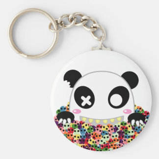 Ijimekko the Panda - Sugar Skulls Keychain