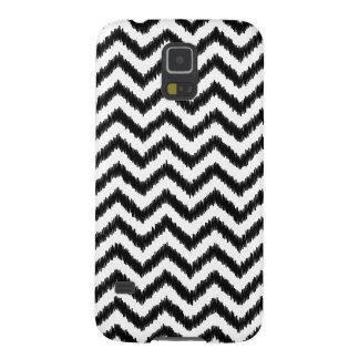 Ikat Chevron Black Pattern Zigzag Cases For Galaxy S5