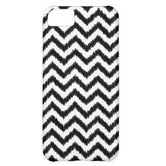 Ikat Chevron Black Pattern Zigzag iPhone 5C Case