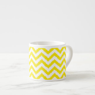Ikat Chevron Sunny Yellow Pattern Zigzag