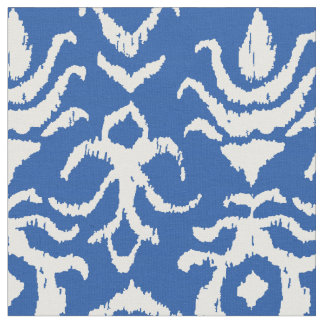 Ikat Damask Fabric
