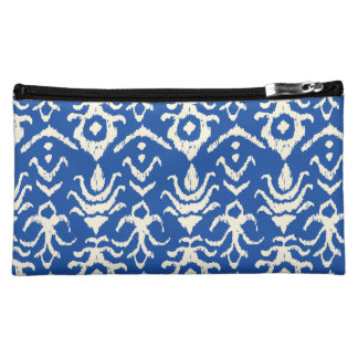Ikat Damask Makeup Bag