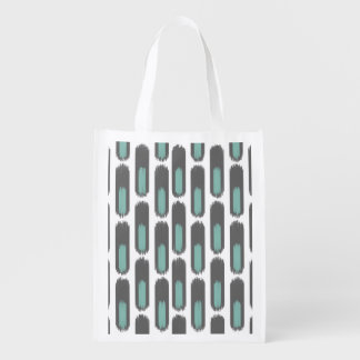 Ikat Diamond59 New Reusable Grocery Bag