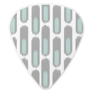 Ikat Diamond59 New White Delrin Guitar Pick