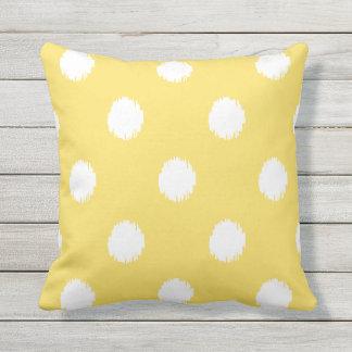 Ikat Dots | Outdoor Pillow