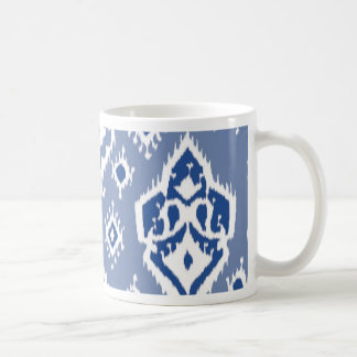 Ikat Tribal Diamond Pattern Coffee Mug