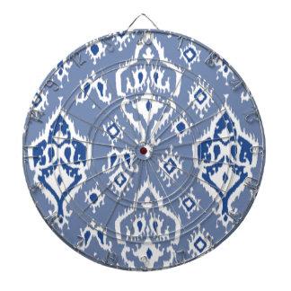 Ikat Tribal Diamond Pattern Dartboards