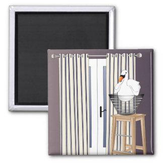 Ikea Interiors Swan Magnet