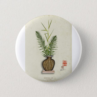 ikebana 14 by tony fernandes 2 inch round button