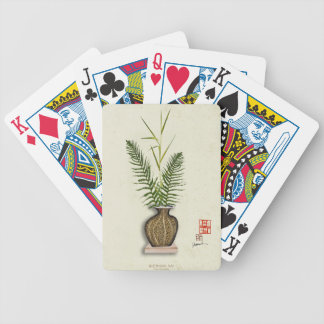 ikebana 14 by tony fernandes bicycle playing cards
