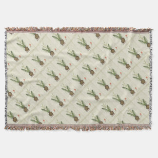 ikebana 14 by tony fernandes throw blanket