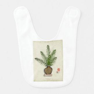 ikebana 15 by tony fernandes baby bib