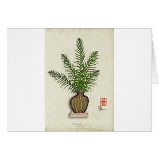 ikebana 15 by tony fernandes card