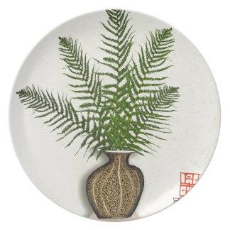 ikebana 15 by tony fernandes plates