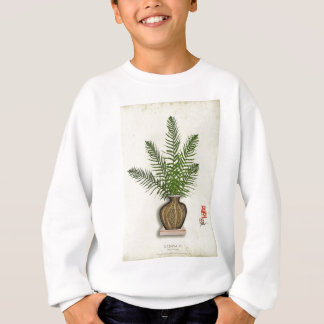 ikebana 15 by tony fernandes sweatshirt