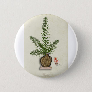 ikebana 16 by tony fernandes 2 inch round button