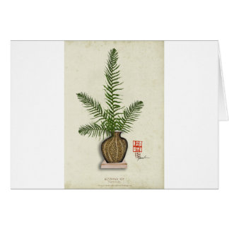 ikebana 16 by tony fernandes card