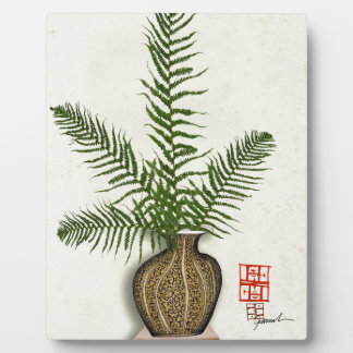 ikebana 16 by tony fernandes plaque