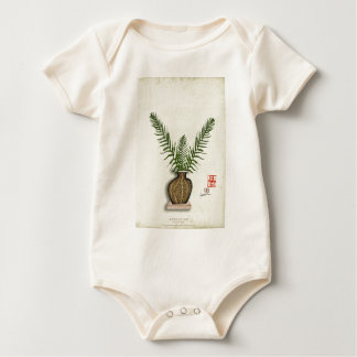 ikebana 17 by tony fernandes baby bodysuit
