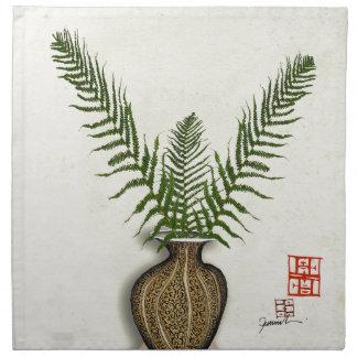 ikebana 17 by tony fernandes napkin